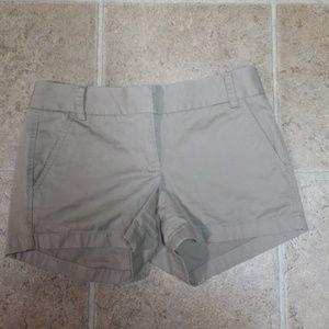 J. Crew Khaki Chino Shorts